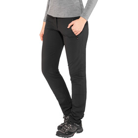 Maier Sports Helga Slim Pantalon Stretch Femme, black